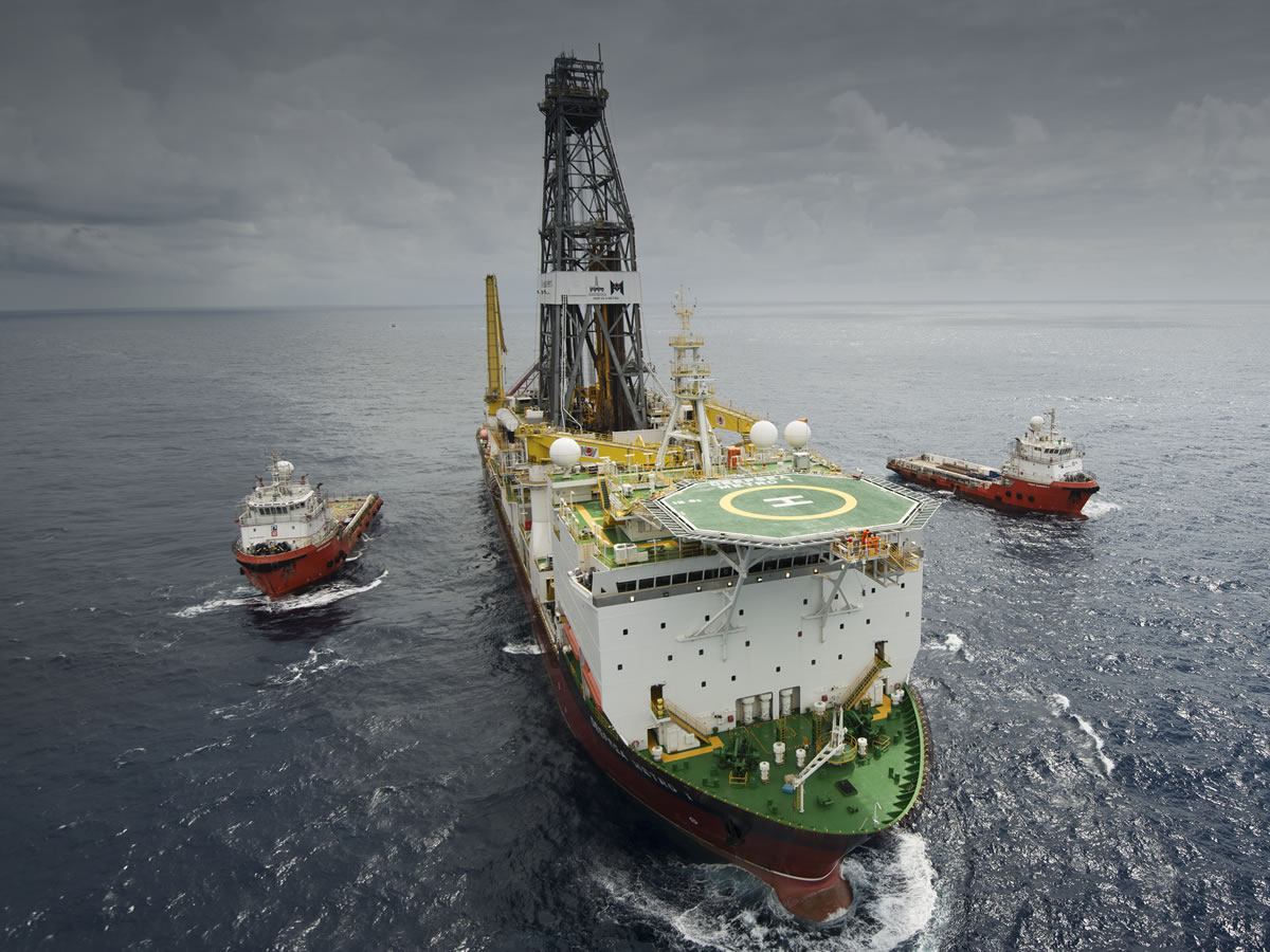 The Deepsea Metro-1 is contracted to BG Group for drilling offshore Tanzania.