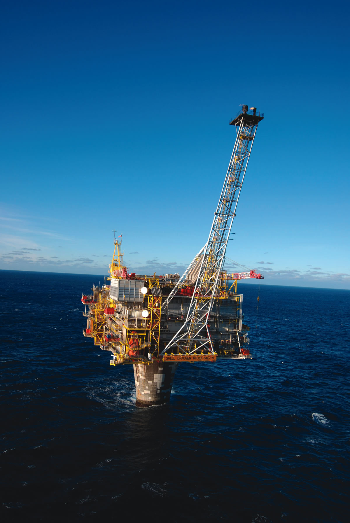 The first subsea multiphase pump was installed by Shell at Draugen field in Block 6407/9 in the Norwegian Sea.