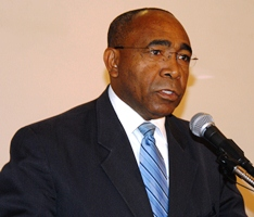 Barbados Energy Minister Darcy Boyce