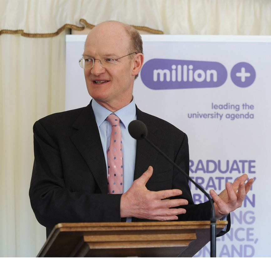 David Willets, UK Minister for Universities and Science