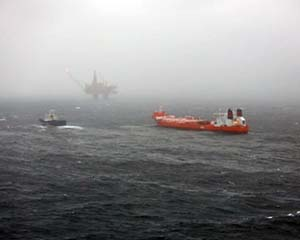 Updated: Oil spill at Statfjord