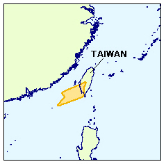 Tainan basin, off southwest Taiwan. Image from IHS.